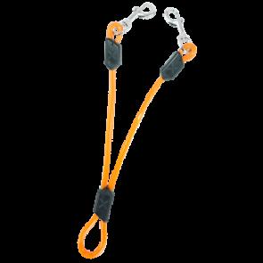 Extensión Doble para correa en Naranja de XOLOPets