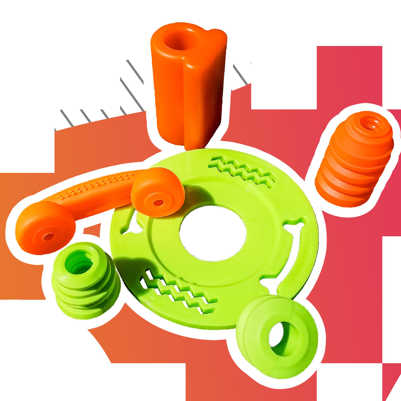 Juguetes XOLOPets fabricados en Poliuretano